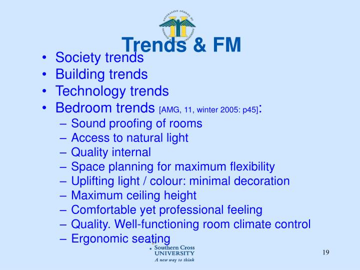 Trends & FM