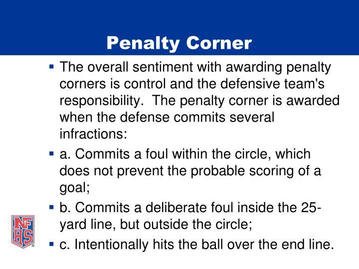 Penalty Corner