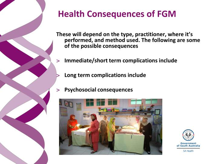 Health Consequences of FGM