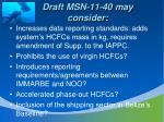 draft msn 11 40 may consider