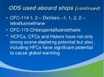 ods used aboard ships continued1