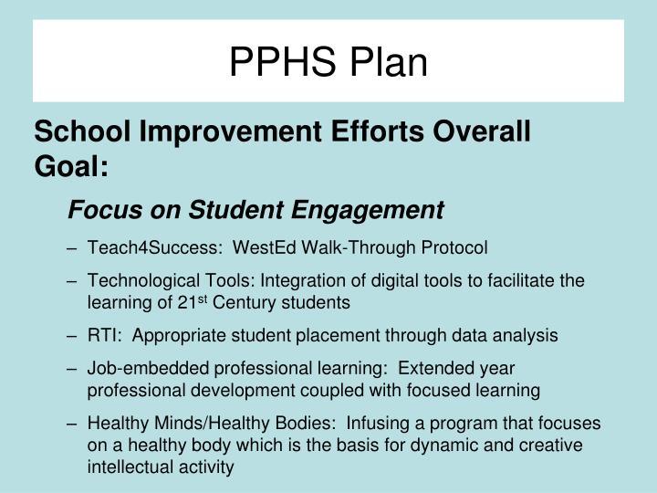 PPHS Plan