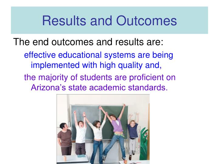 Results and Outcomes