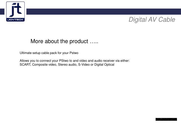Digital AV Cable