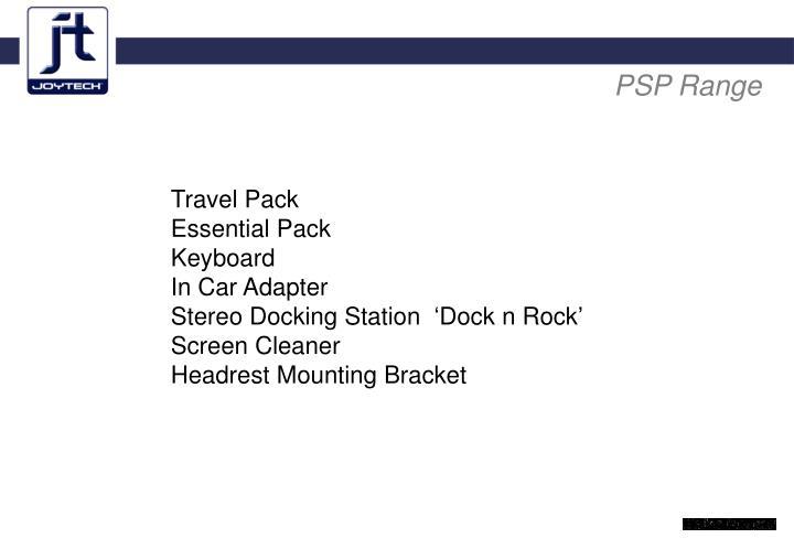 PSP Range