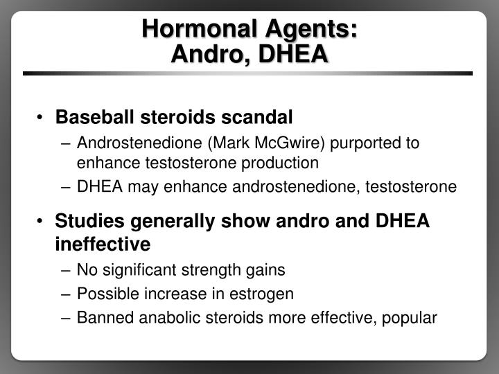 Hormonal Agents: