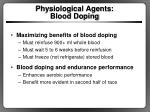 physiological agents blood doping1