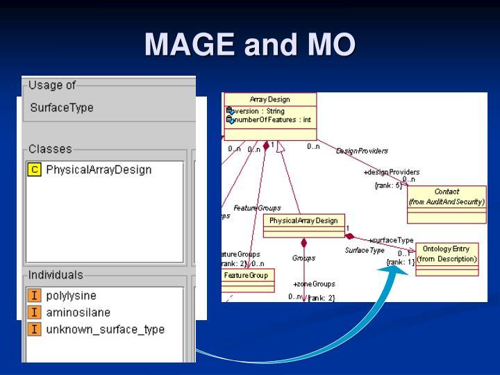MAGE and MO