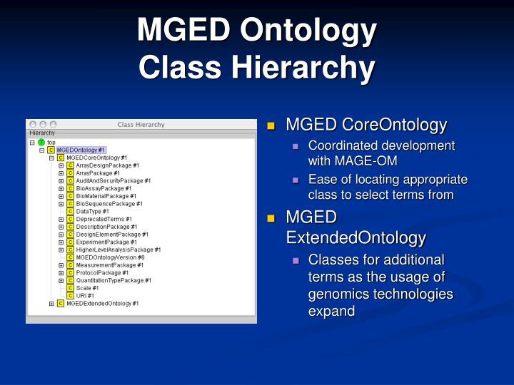 MGED Ontology