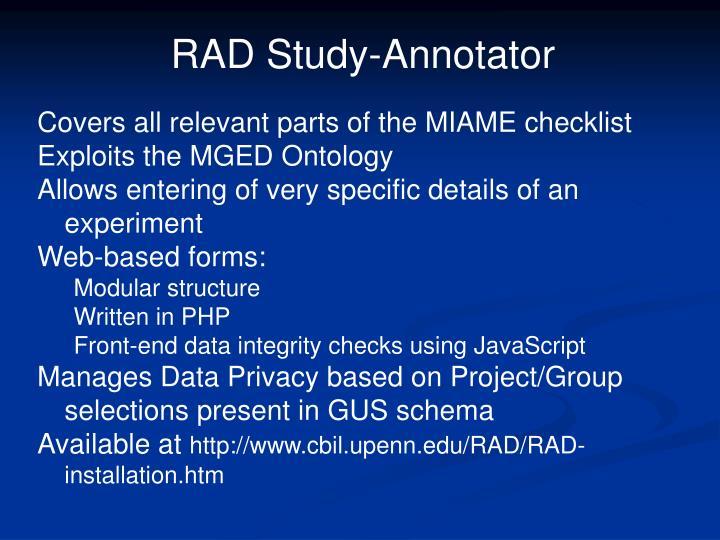 RAD Study-Annotator