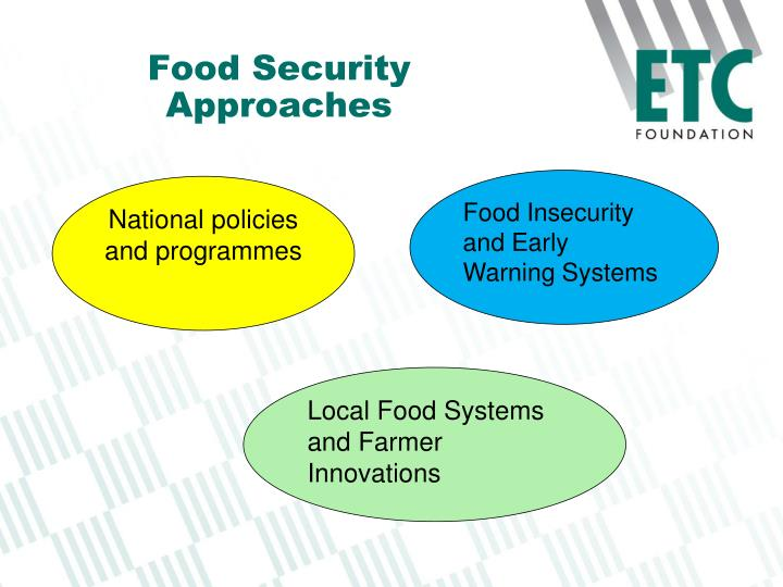 Food Security Approaches