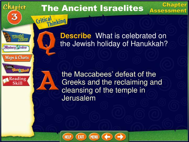 The Ancient Israelites