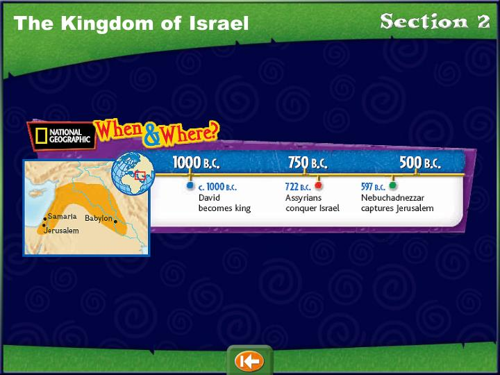 The Kingdom of Israel