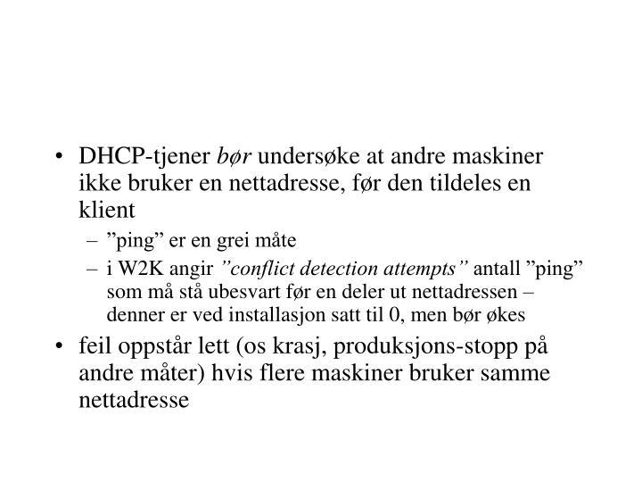 DHCP-tjener