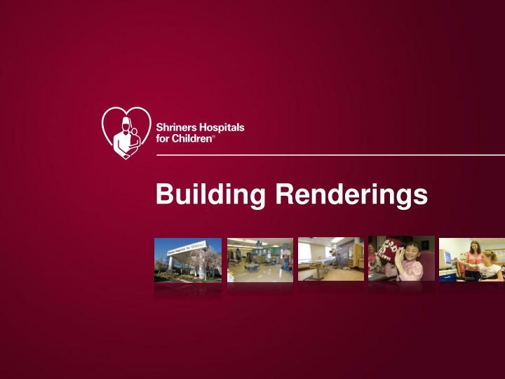 Building Renderings