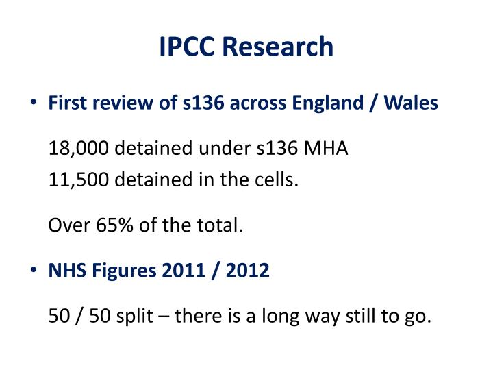 IPCC Research