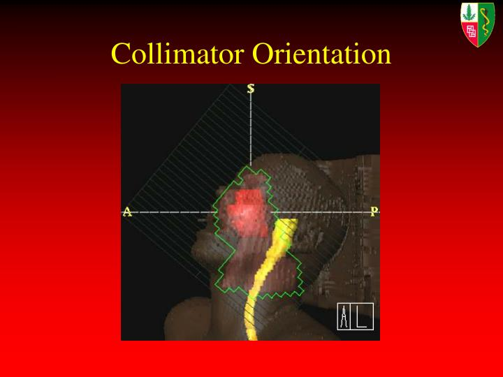 Collimator Orientation