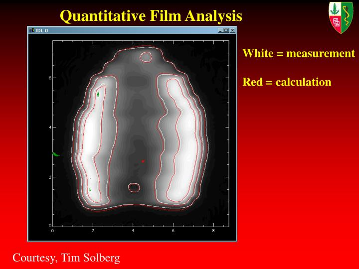 Quantitative Film Analysis
