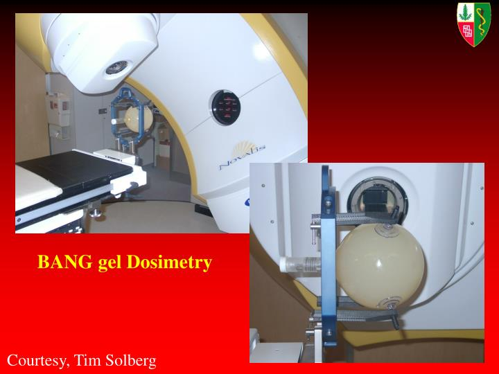 BANG gel Dosimetry