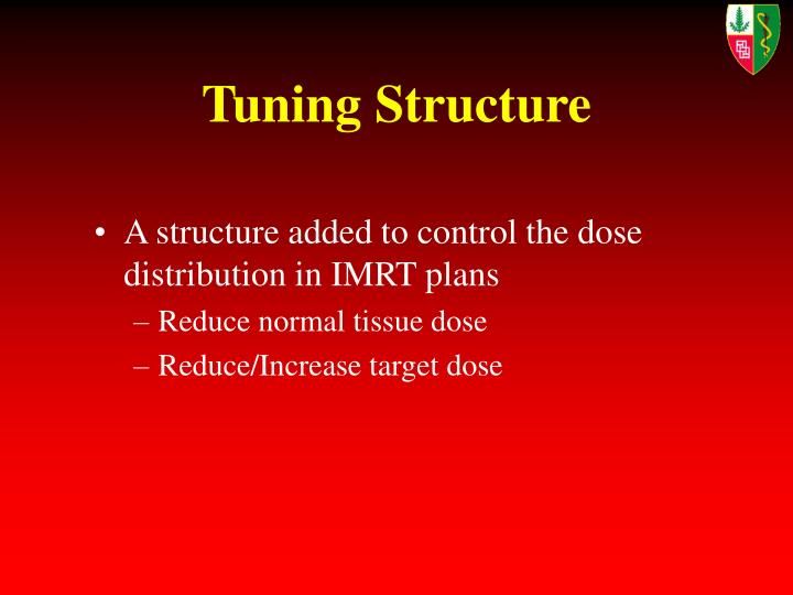 Tuning Structure