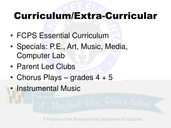 Curriculum/Extra-Curricular