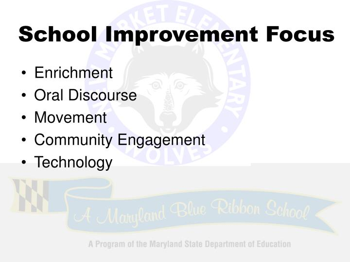 School Improvement Focus