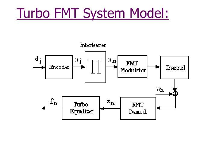 Turbo FMT System Model: