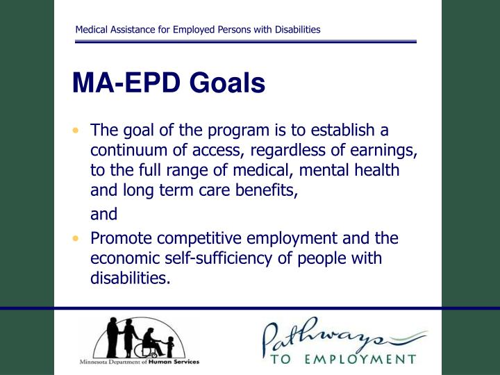 Medical Assistance for Employed Persons with Disabilities