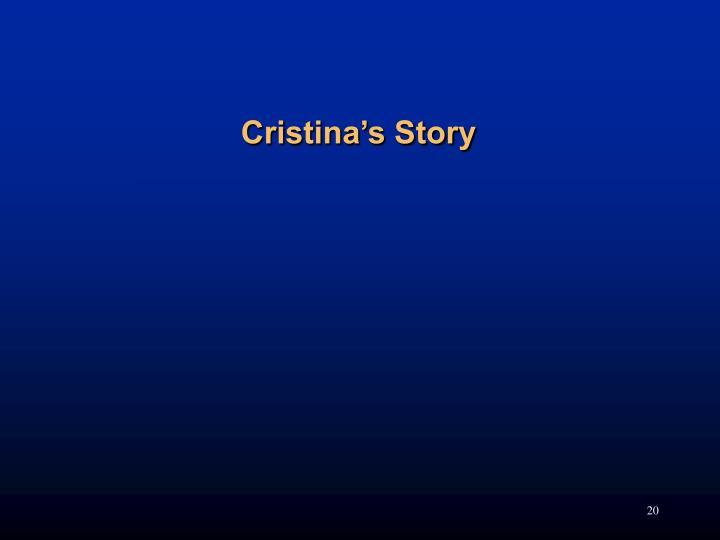 Cristina's Story