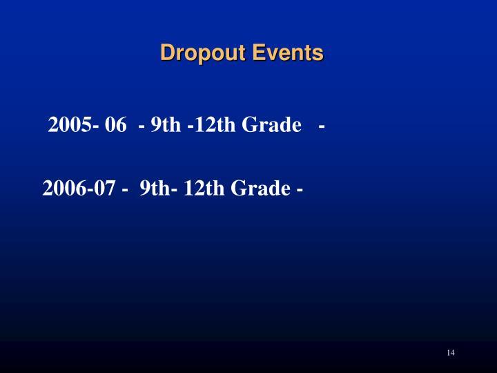 2005- 06  - 9th -12th Grade   -