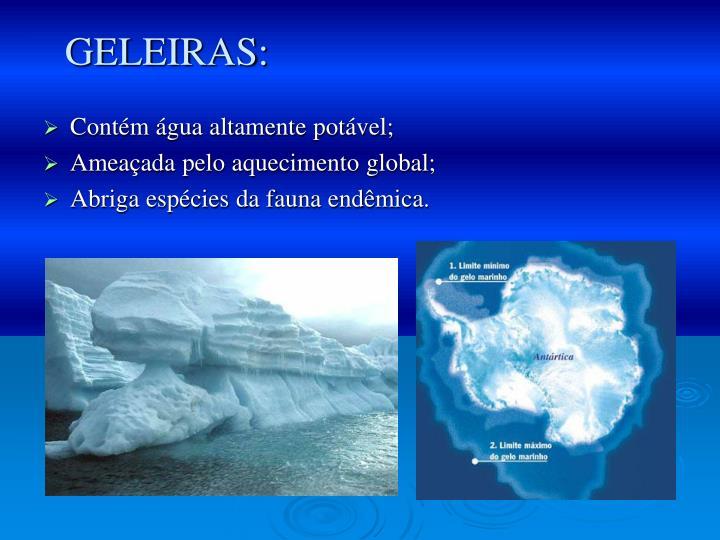 GELEIRAS: