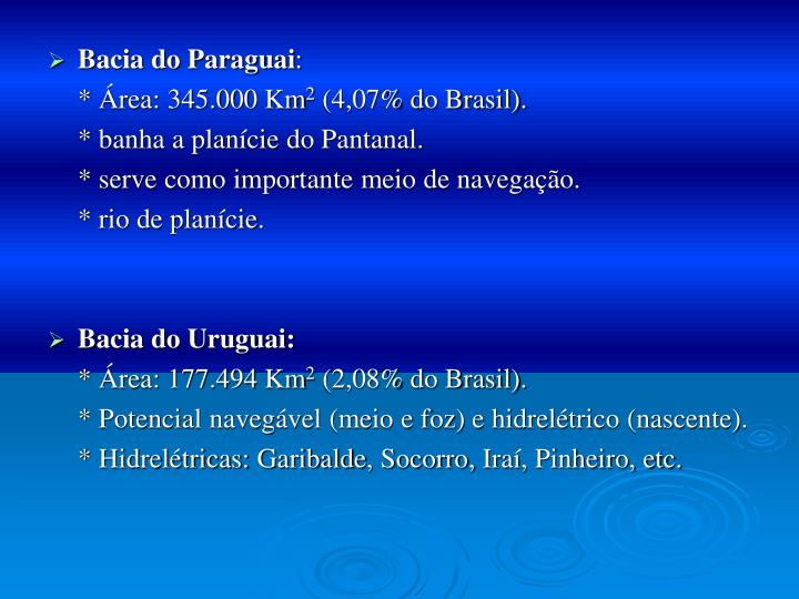 Bacia do Paraguai