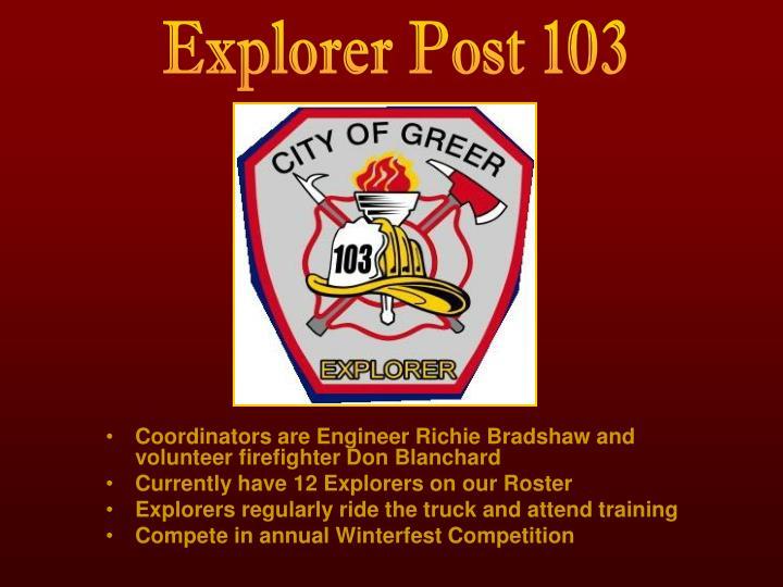 Explorer Post 103