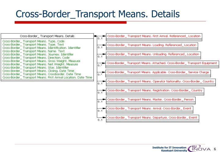 Cross-Border_Transport Means. Details