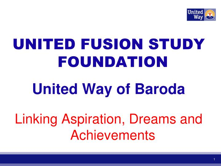 UNITED FUSION STUDY FOUNDATION