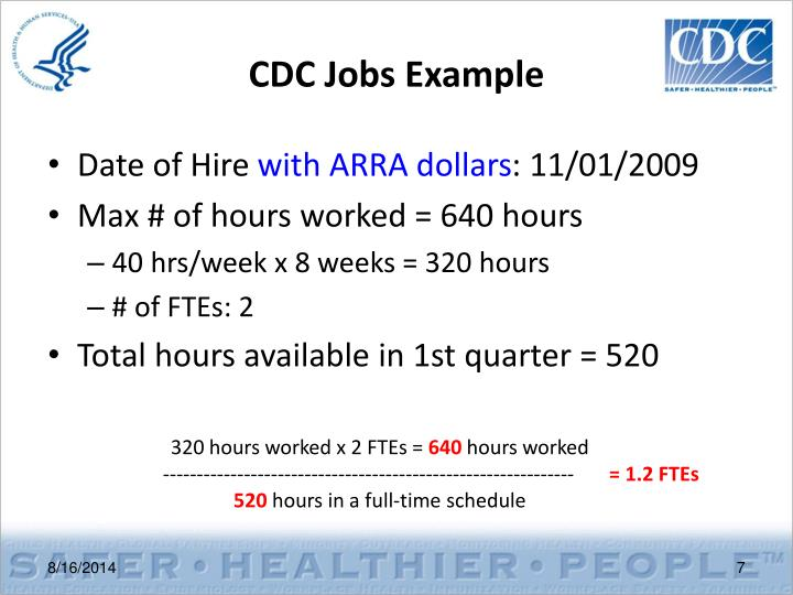 CDC Jobs Example