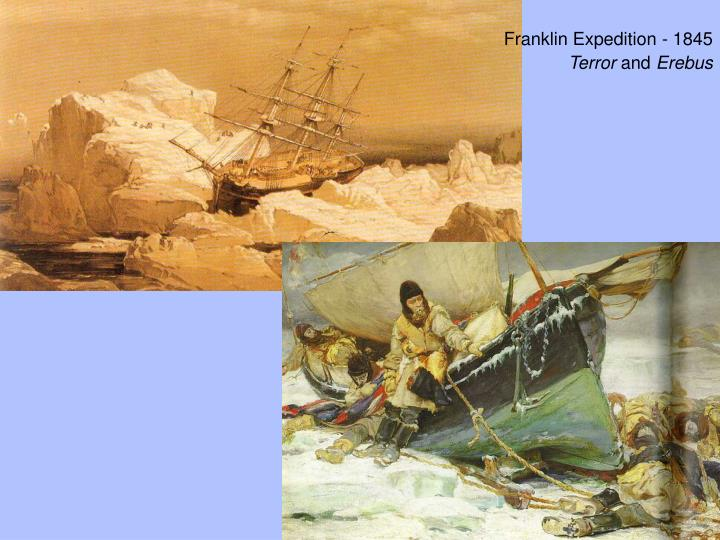 Franklin Expedition - 1845