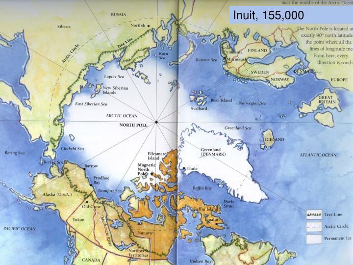 Inuit, 155,000