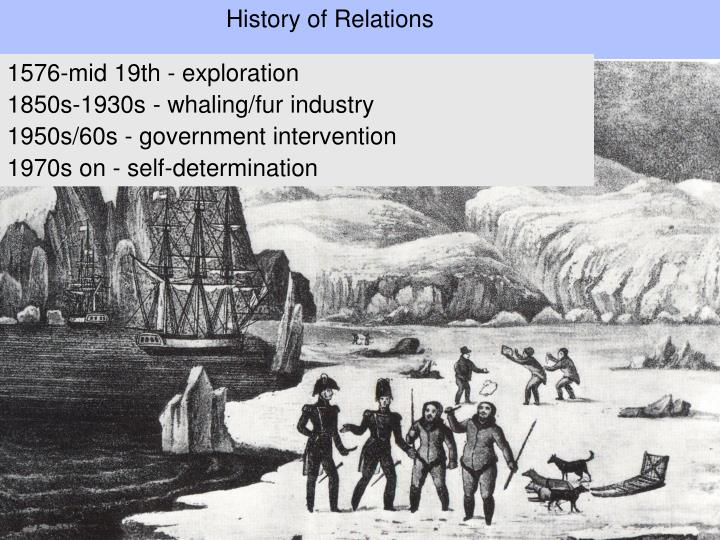 History of Relations
