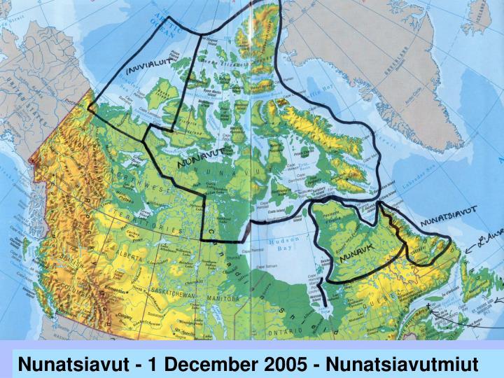 Nunatsiavut - 1 December 2005 - Nunatsiavutmiut