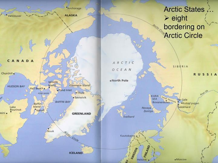 Arctic States …