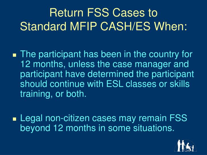 Return FSS Cases to