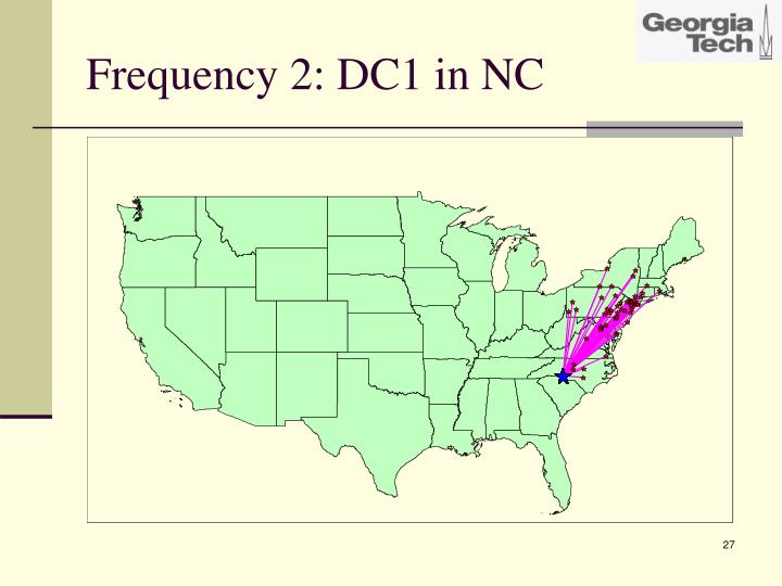 Frequency 2: DC1 in NC