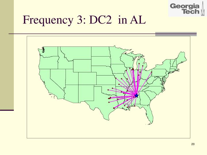 Frequency 3: DC2  in AL