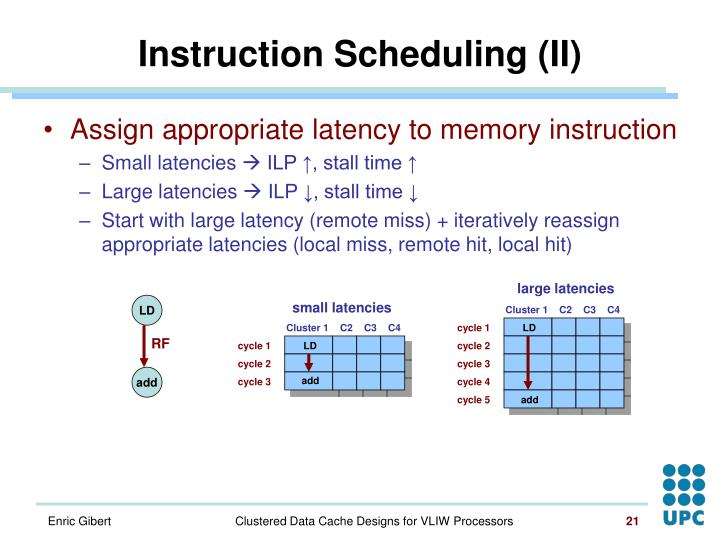 large latencies