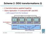 scheme 2 ddg transformations i