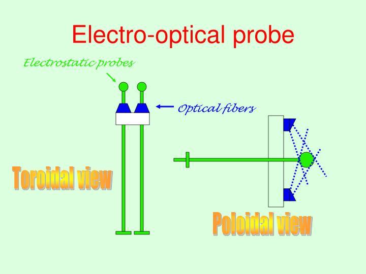 Electro-optical probe