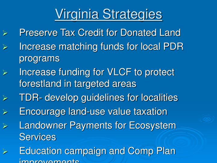 Virginia Strategies