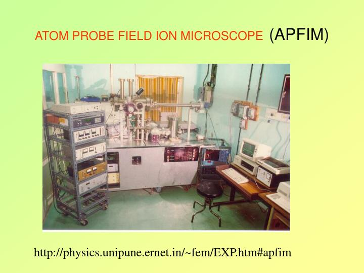 ATOM PROBE FIELD ION MICROSCOPE