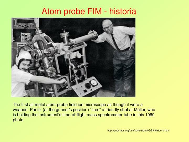 Atom probe FIM - historia